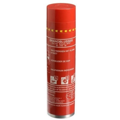 Firestop spray brandblusser
