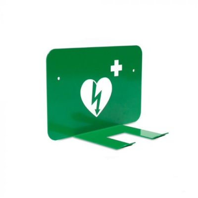 Universele AED wandbeugel met pictogram